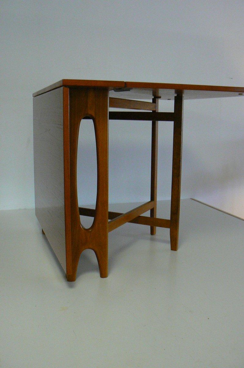 Table de Salle à Manger Pliable Vintage par Bendt Winge pour Kleppe ...