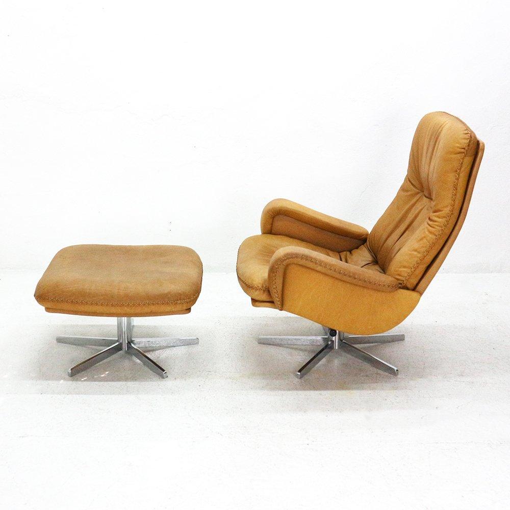 Ds 50 Sessel Hocker Von Desede 1960er Bei Pamono Kaufen