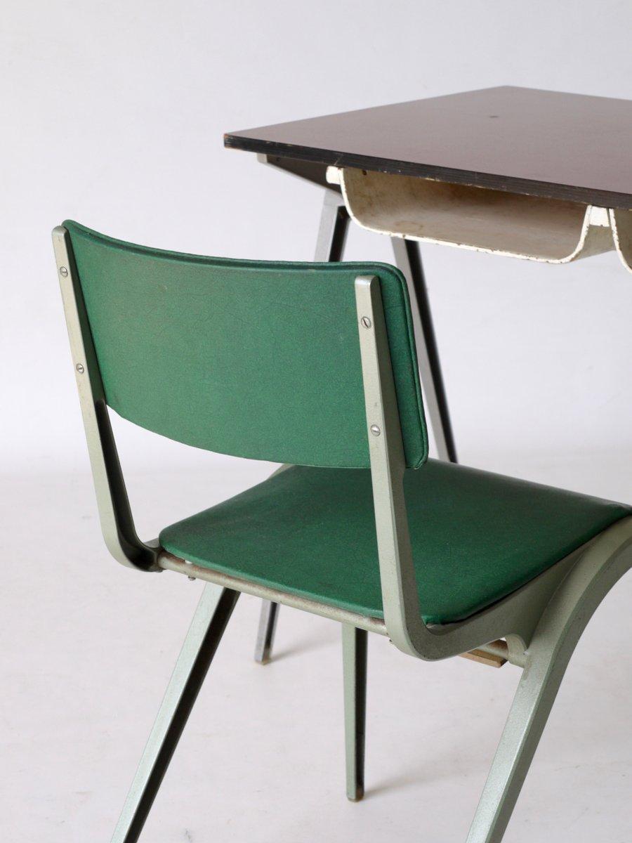 Schreibtisch Mit Stuhl : schreibtisch stuhl von james leonard f r esa 1950er bei ~ A.2002-acura-tl-radio.info Haus und Dekorationen