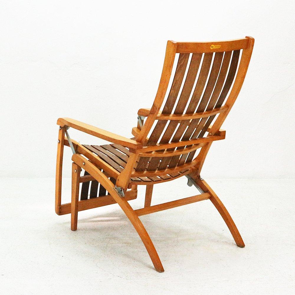 Chaise longue pour sieste m dicinale par hans luckhardt pour thonet 1951 en vente sur pamono - Chaise longue en anglais ...