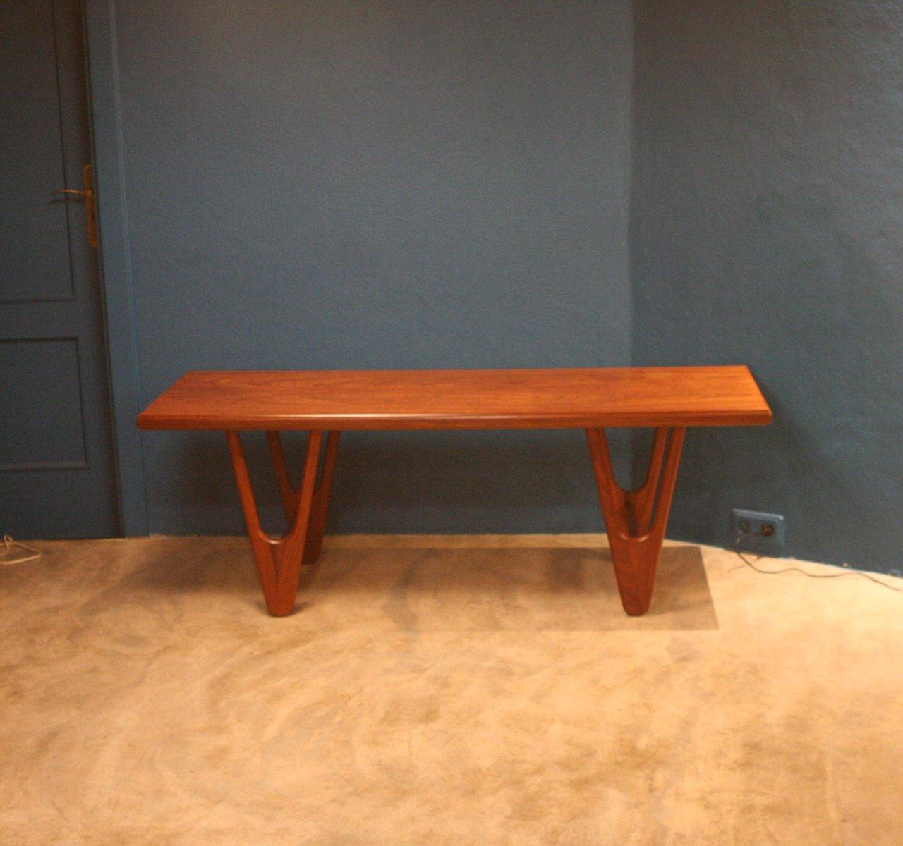 Mid-Century Teak Coffee Table For Sale At Pamono