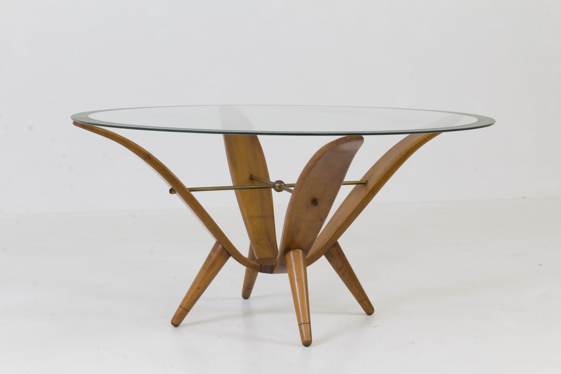 Italian Mid Century Modern Coffee Table, 1950s