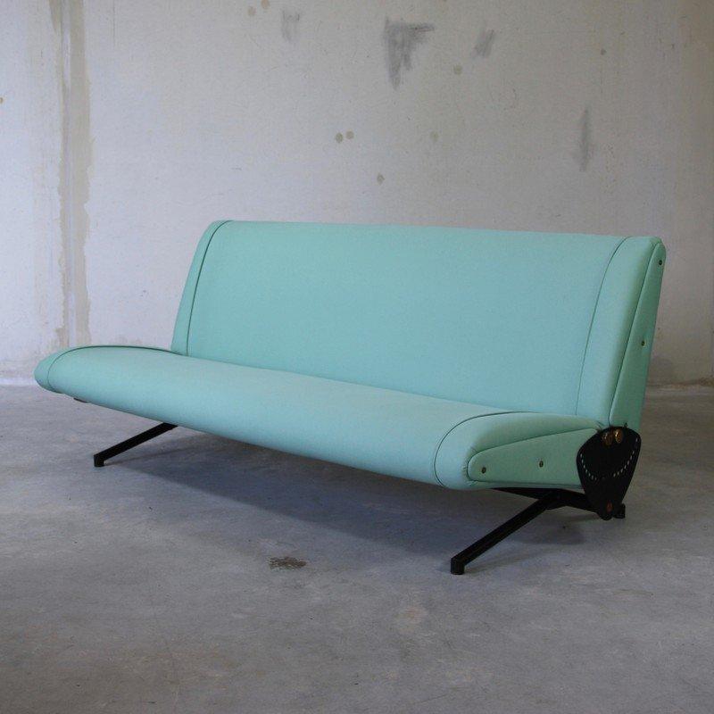 Vintage D70 Sleeper Sofa By Osvaldo Borsani For Tecno
