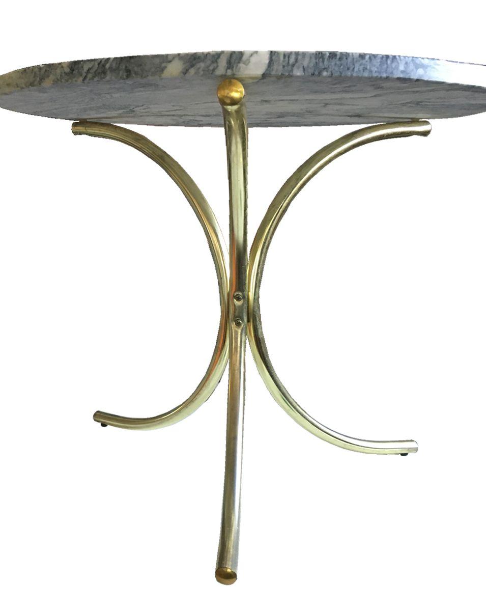 table d 39 appoint blanche et grise en pierre su de 1970s en vente sur pamono. Black Bedroom Furniture Sets. Home Design Ideas