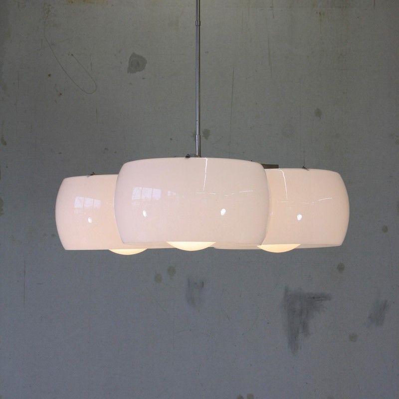 Große Vintage Triclinio Lampe von Vico Magistretti für Artemide