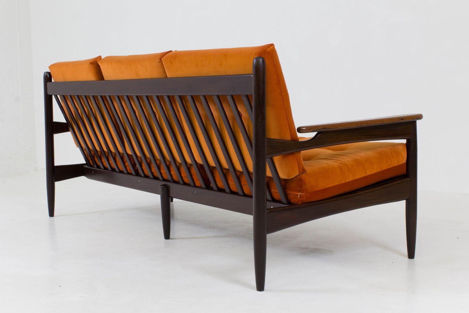 Organisches Danisches Mid Century Modern Sofa Von Lifa 1960er Bei