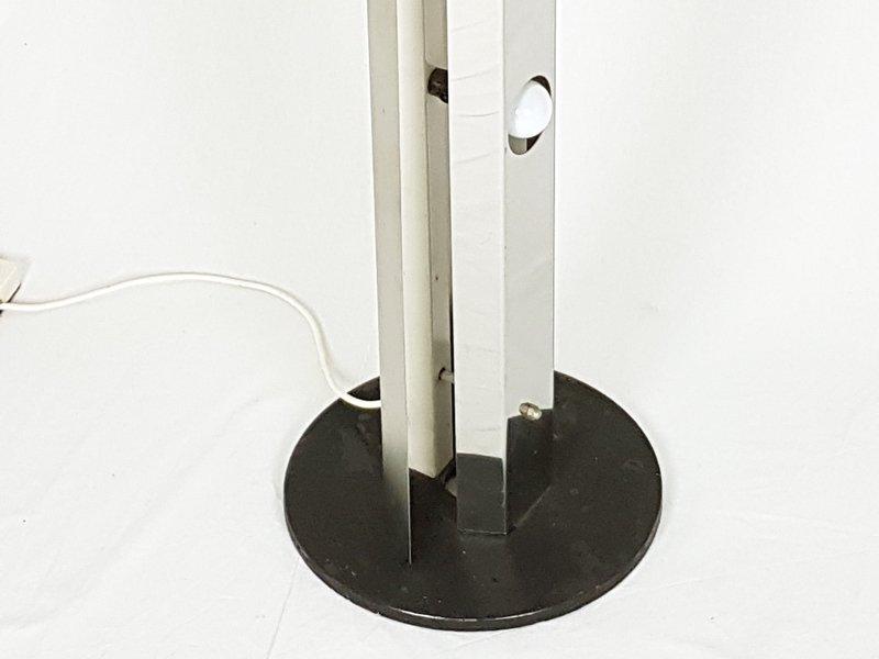 italienische space age stahl stehlampe mit 6 lichtquellen 1970er bei pamono kaufen. Black Bedroom Furniture Sets. Home Design Ideas