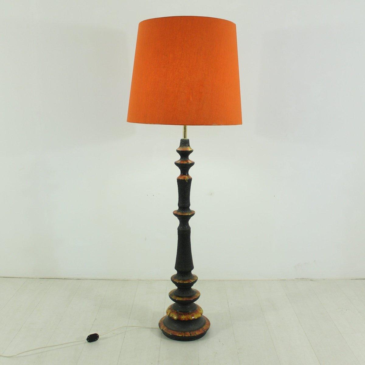 Westdeutsche Stehlampe, 1970er