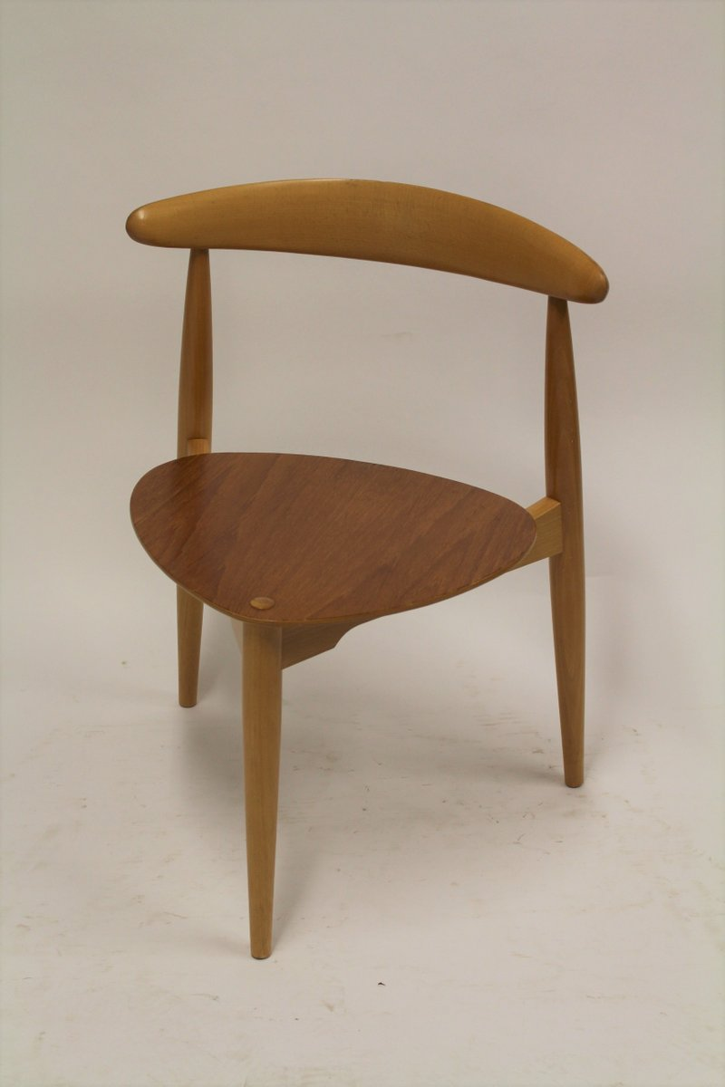 Delicieux Heart Chairs By Hans Wegner For Fritz Hansen, 1963, Set Of 6