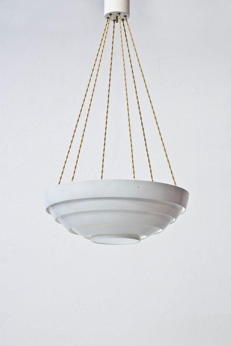Vintage Deckenlampe mit Sechs Leuchten, 1960er