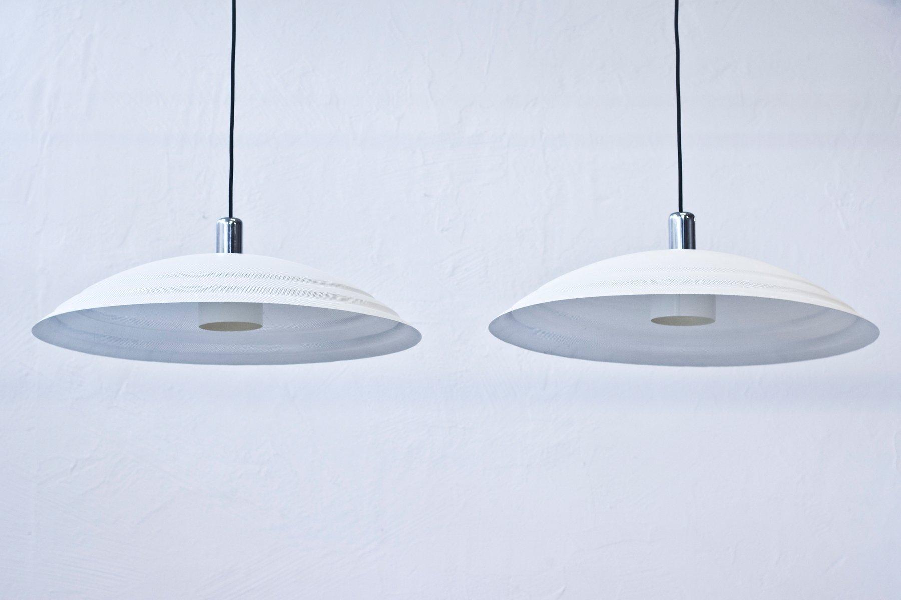 Deckenlampen von Lindau & Lindekrantz für Zero, 1980er, 2er Set
