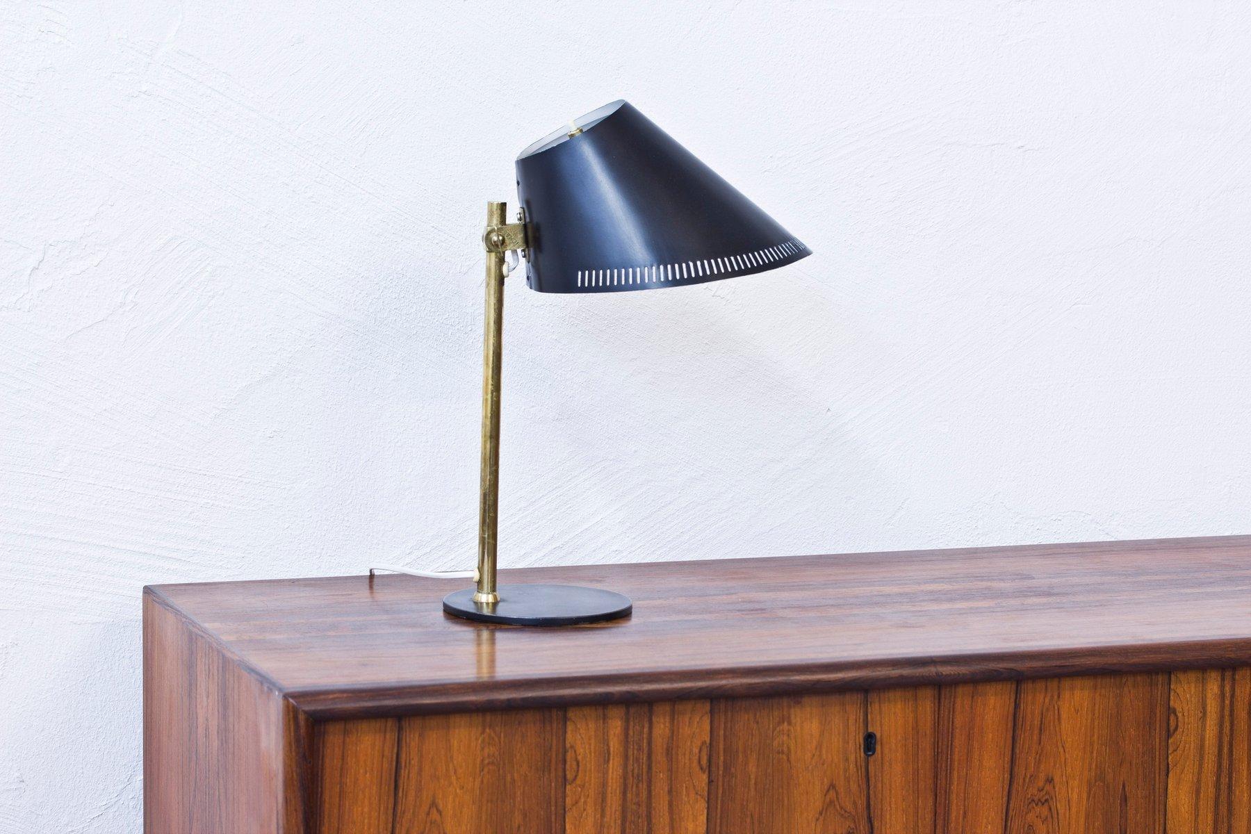 Tischlampe von Paavo Tynell für Idman, 1950er