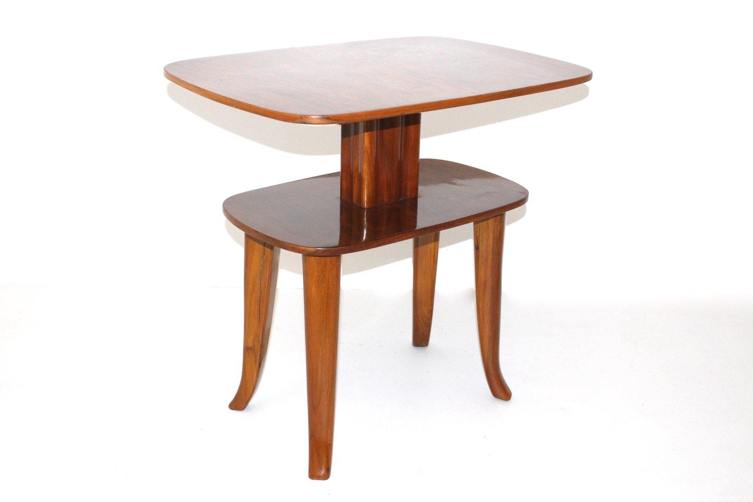 wiener vintage beistelltisch mit ablage bei pamono kaufen. Black Bedroom Furniture Sets. Home Design Ideas