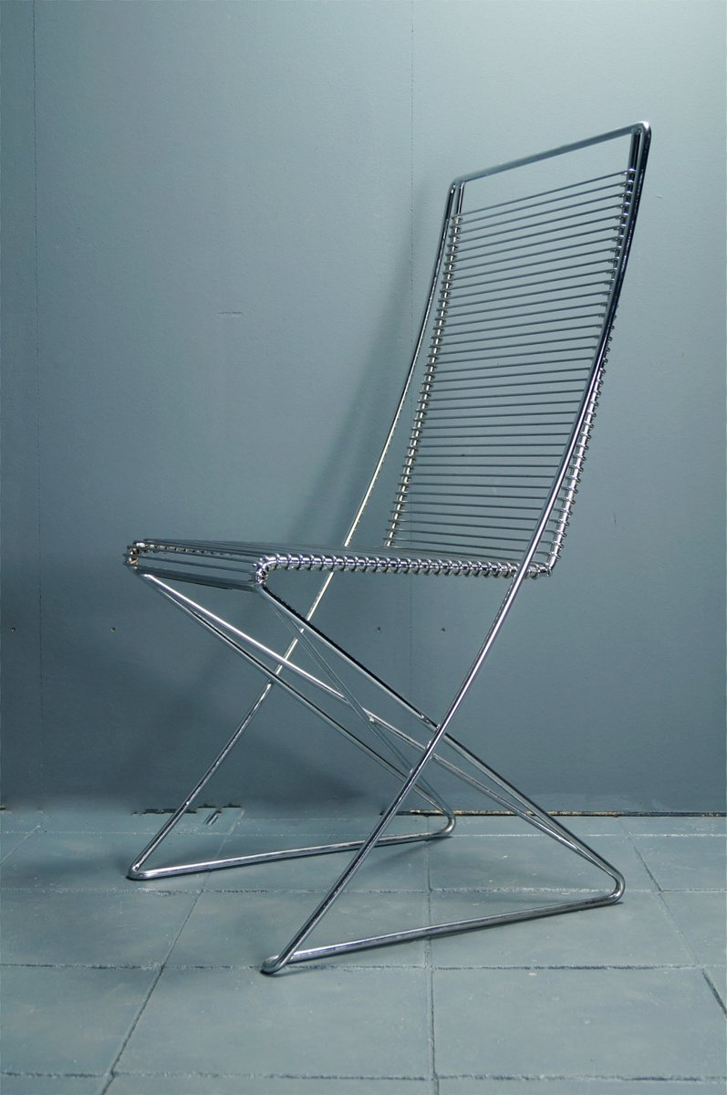 Wire Chair by Till Behrens for Schlubach for sale at Pamono
