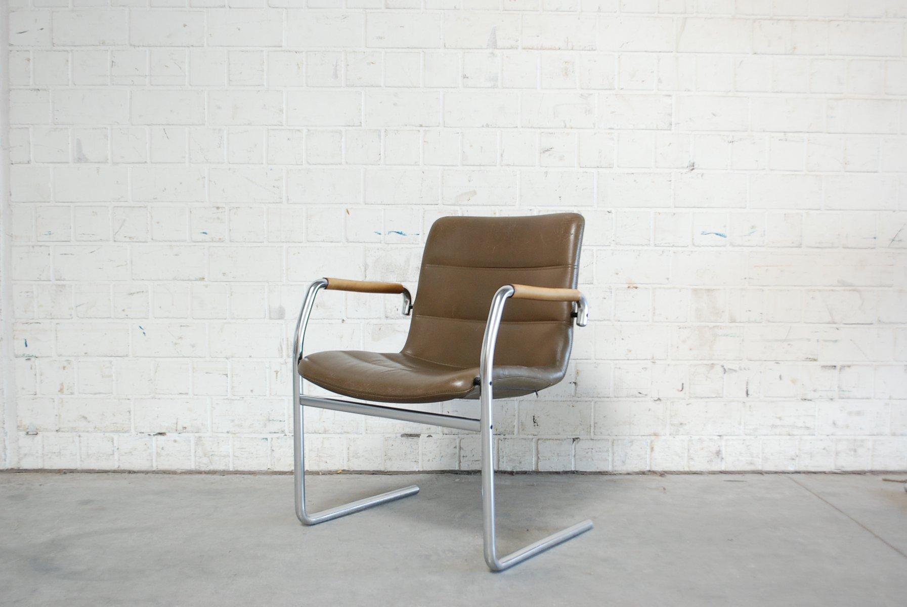 vintage cantilever chairs by jorgen kastholm for kusch. Black Bedroom Furniture Sets. Home Design Ideas