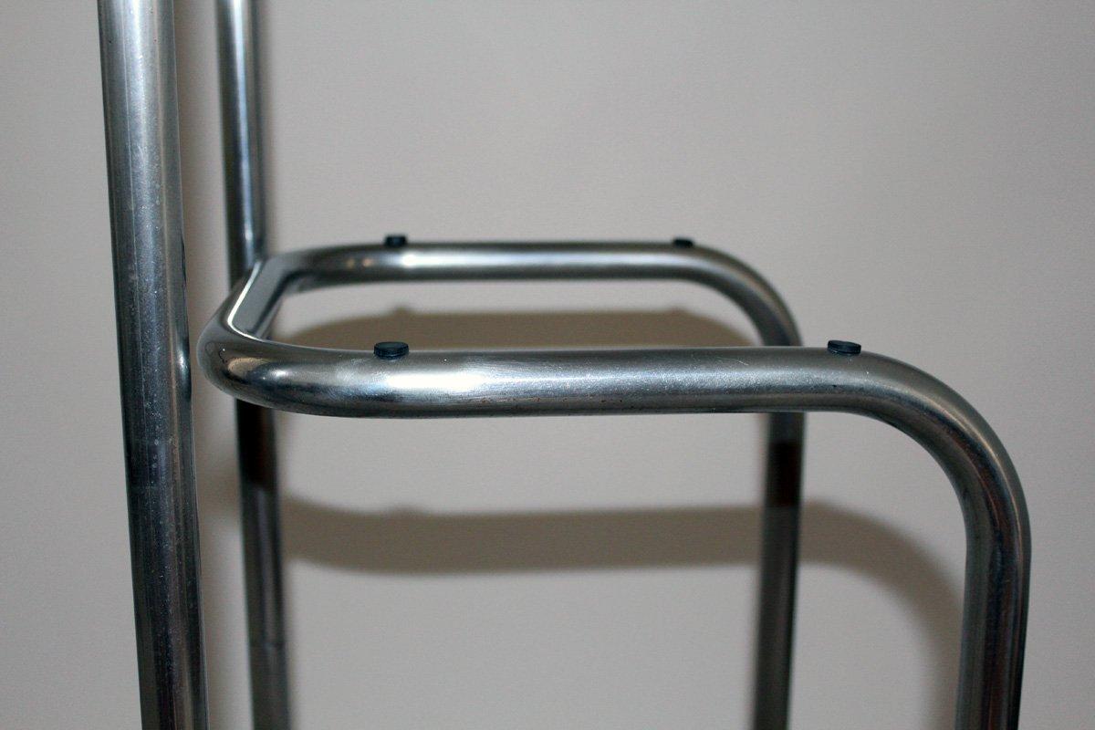 Unità di mensole in acciaio tubolare anni in vendita su pamono