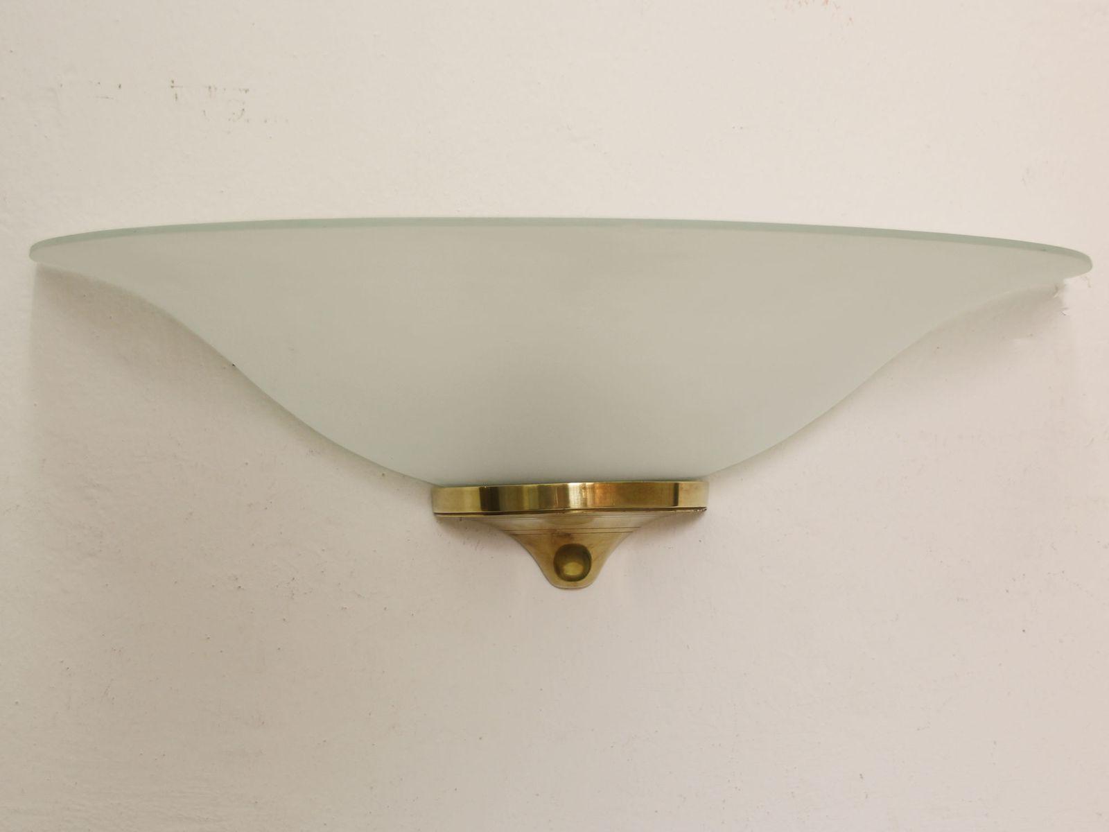 Große Moderne Französische Art Deco Wandlampe, 1930er