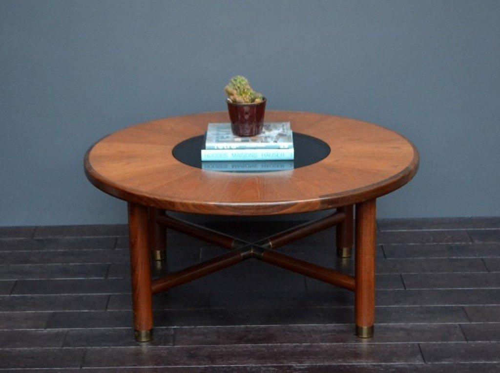 vintage couchtisch aus teak glas bei pamono kaufen. Black Bedroom Furniture Sets. Home Design Ideas