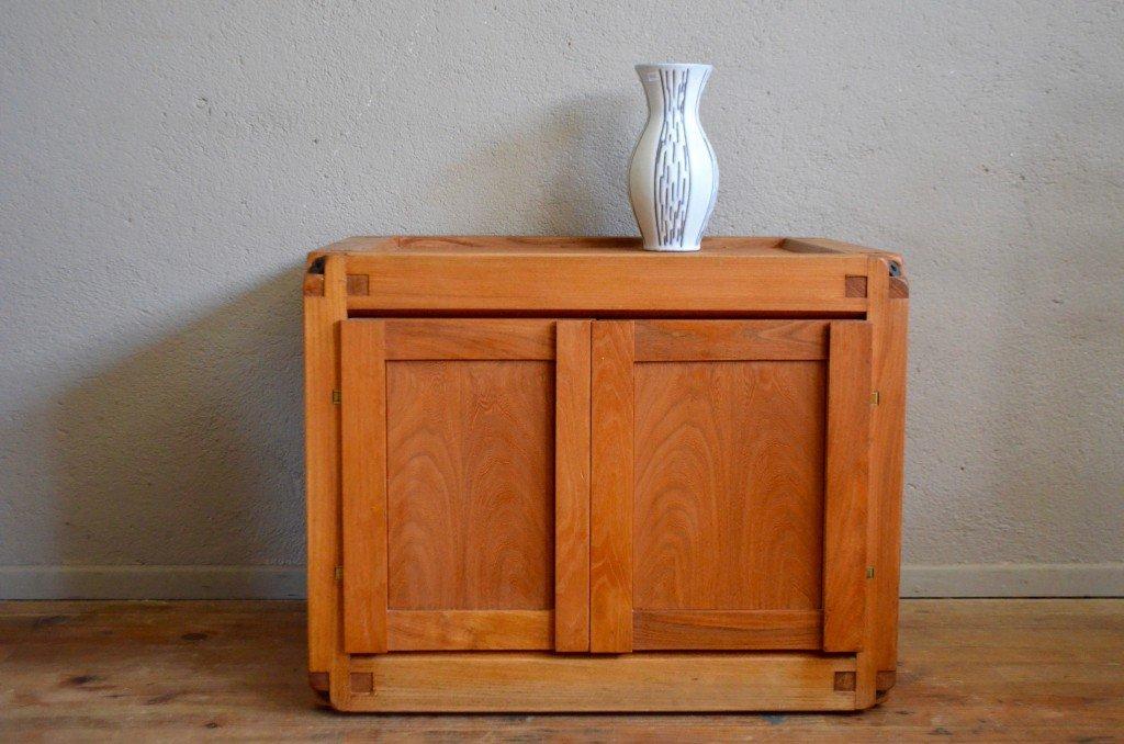 meuble vintage en orme par pierre chapo france 1960s en vente sur pamono. Black Bedroom Furniture Sets. Home Design Ideas