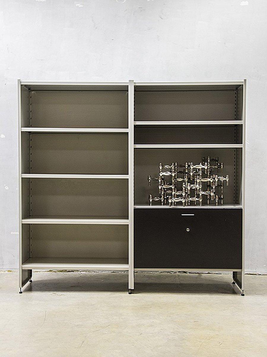 Vintage steel furniture Steel Girder Price Per Set Pamono Midcentury Dutch Modernist Steel Cabinet By Andre Cordemeijer For
