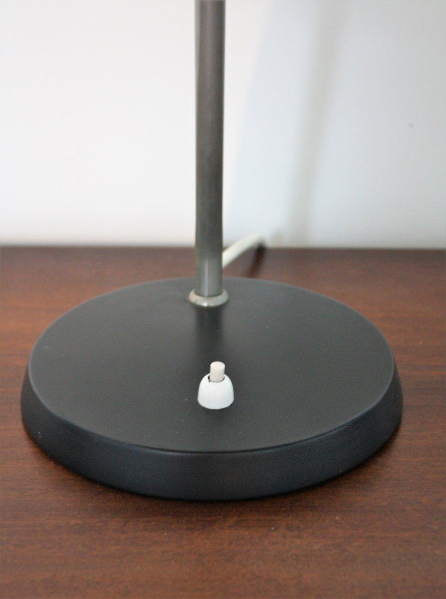 lampe de bureau noire vintage par louis kalff pour philips. Black Bedroom Furniture Sets. Home Design Ideas