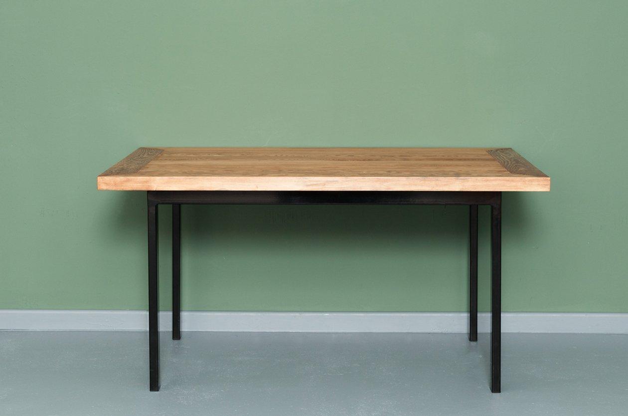 ONDERBANKEN | Tisch aus Recyceltem Bauholz & Stahl von Johanenlies, 20...