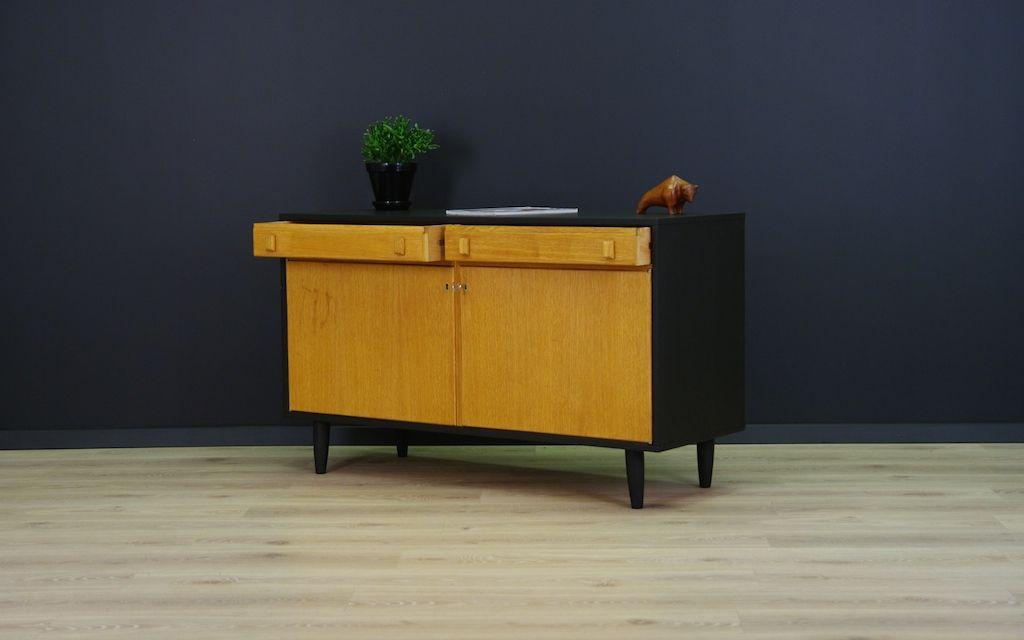 d nische minimalistische vintage eschenholz kommode bei pamono kaufen. Black Bedroom Furniture Sets. Home Design Ideas