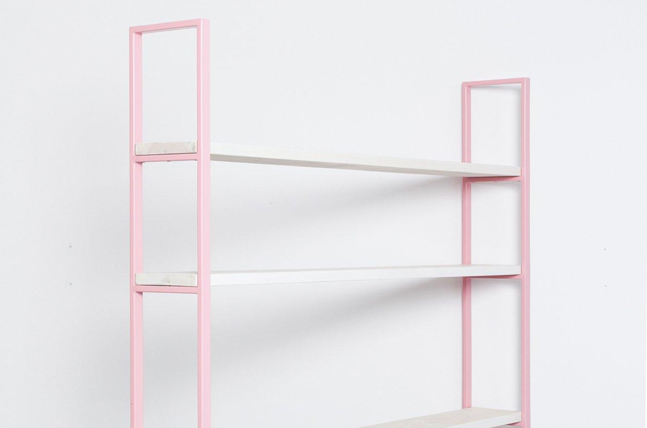 tag re susteren rosa en bois recycl acier par johanenlies en vente sur pamono. Black Bedroom Furniture Sets. Home Design Ideas