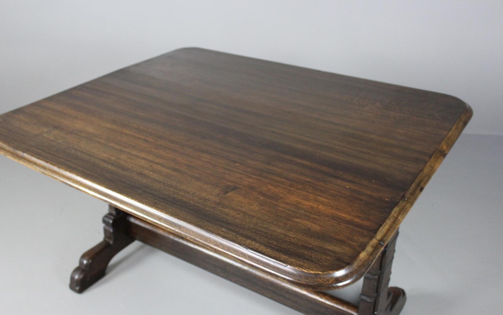 Viktorianischer eichenholz esstisch im gotischen stil bei for Eichenholz esstisch
