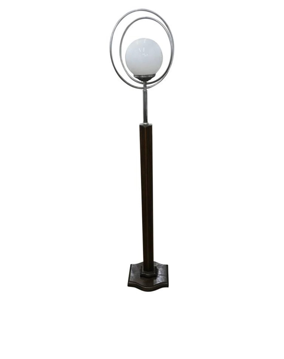 Italienische Art Deco Stehlampe, 1930er