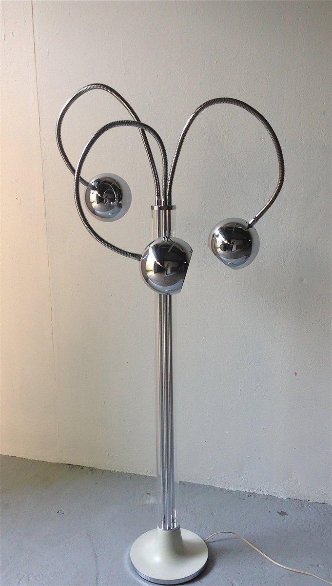 Vintage Italian Floor Lamp by Geoffredo Reggiani