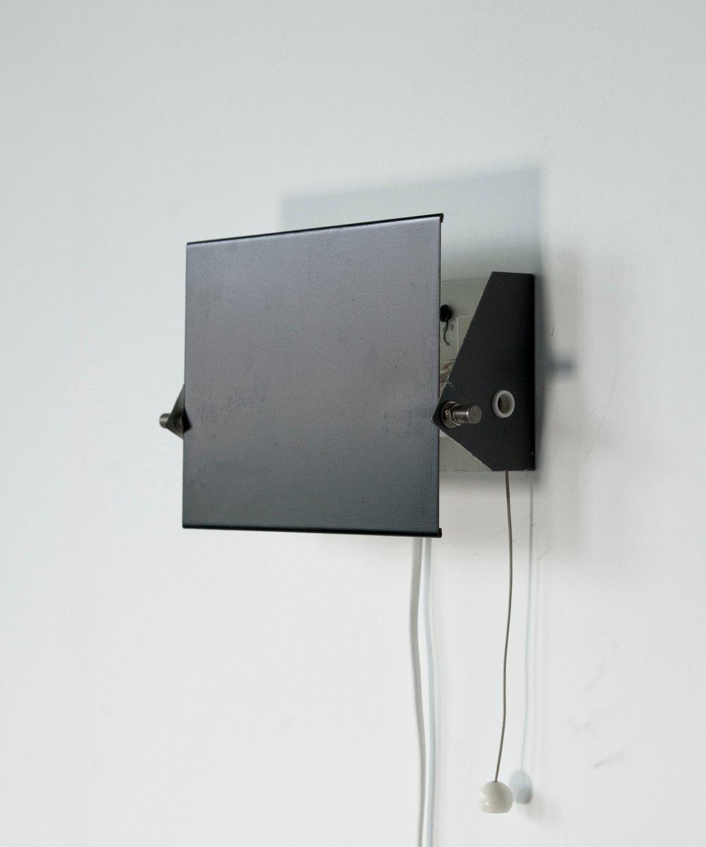 Verstellbare Mid-Century Wandlampe von J.J.M. Hoogervorst für Anvia