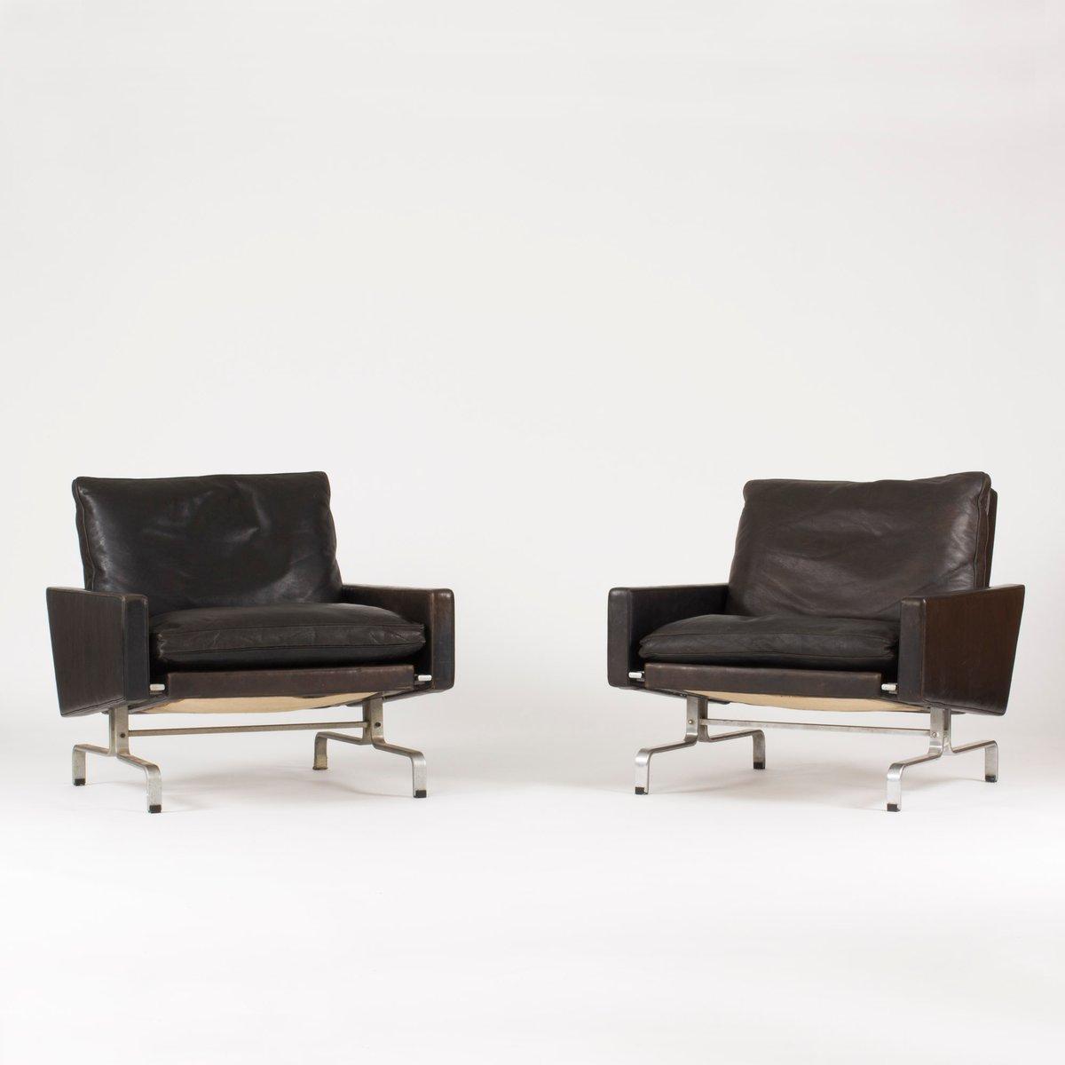 PK 31 Sessel von Poul Kjærholm für E. Kold Christensen, 1960er, 2er Se...