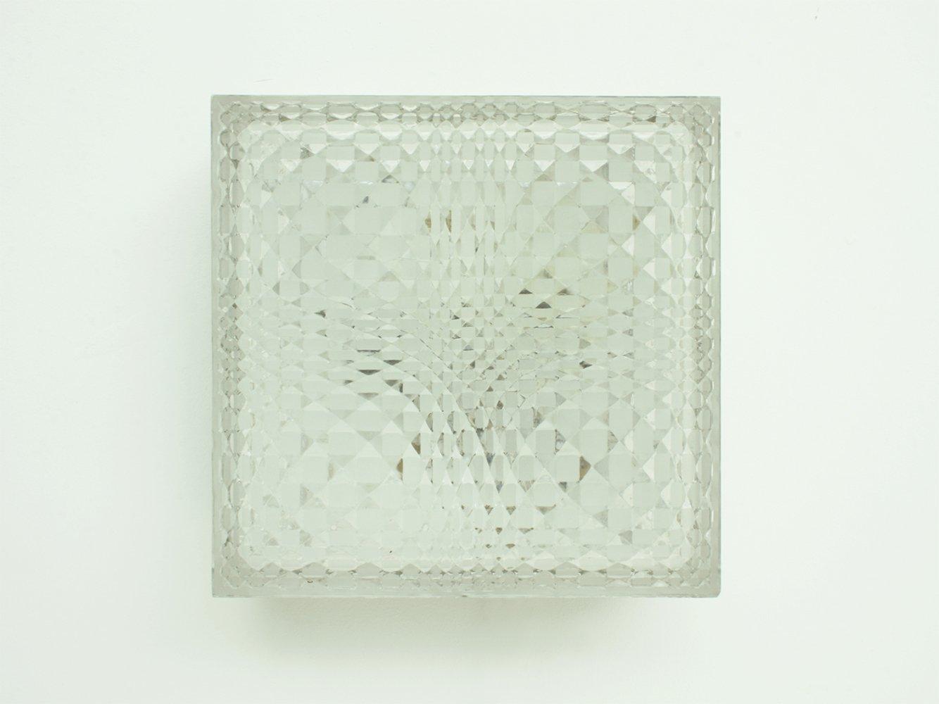 Deutsche Geometrische Wand- oder Deckenlampe von Wila, 1960er