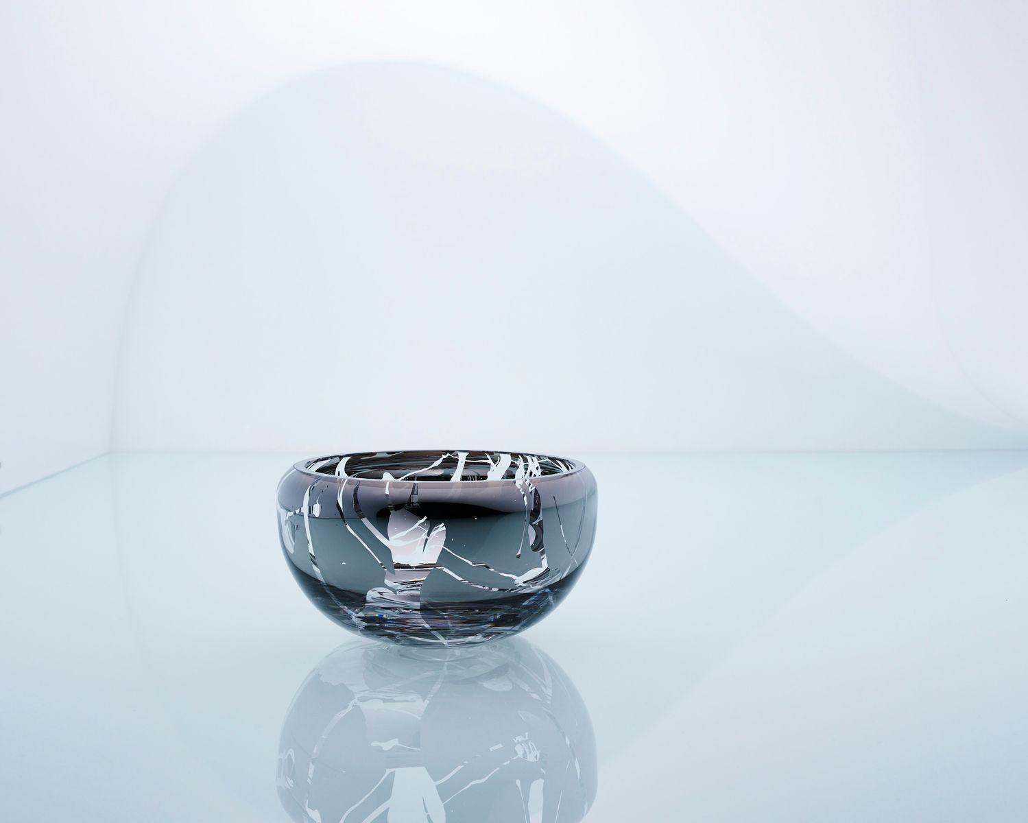 Kleine runde splashed deco spiegelschale von artis nimanis f r an angel bei pamono kaufen - Kleine runde spiegel ...
