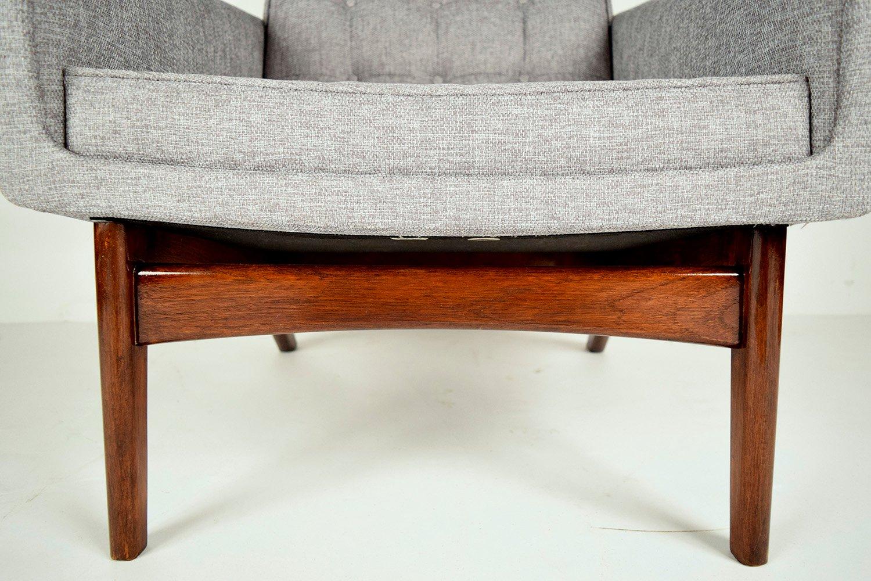 d nischer mid century sessel ottoman von poul jensen bei pamono kaufen. Black Bedroom Furniture Sets. Home Design Ideas