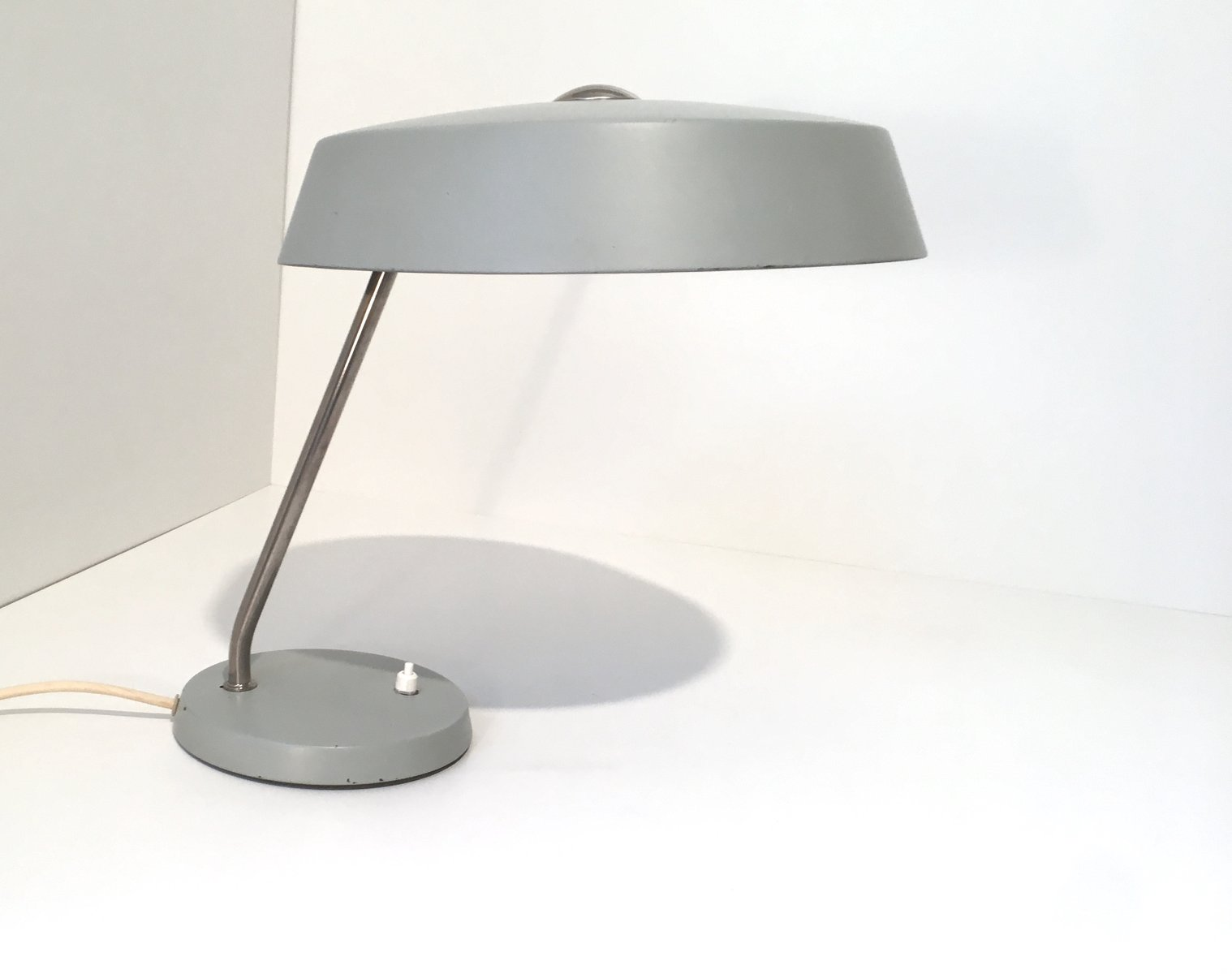 Gray bauhaus table lamp 1960s for sale at pamono gray bauhaus table lamp 1960s aloadofball Image collections