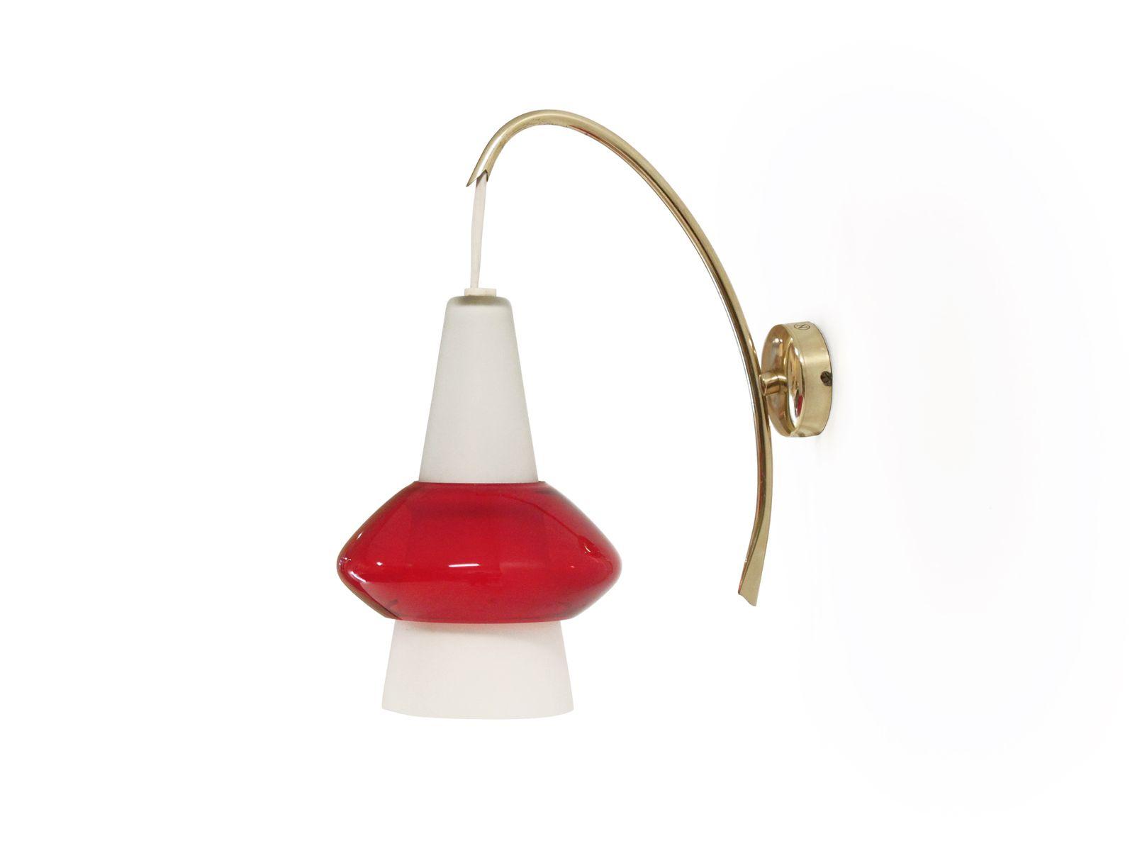Mid-Century Wandlampe von T. Roste, 1960er