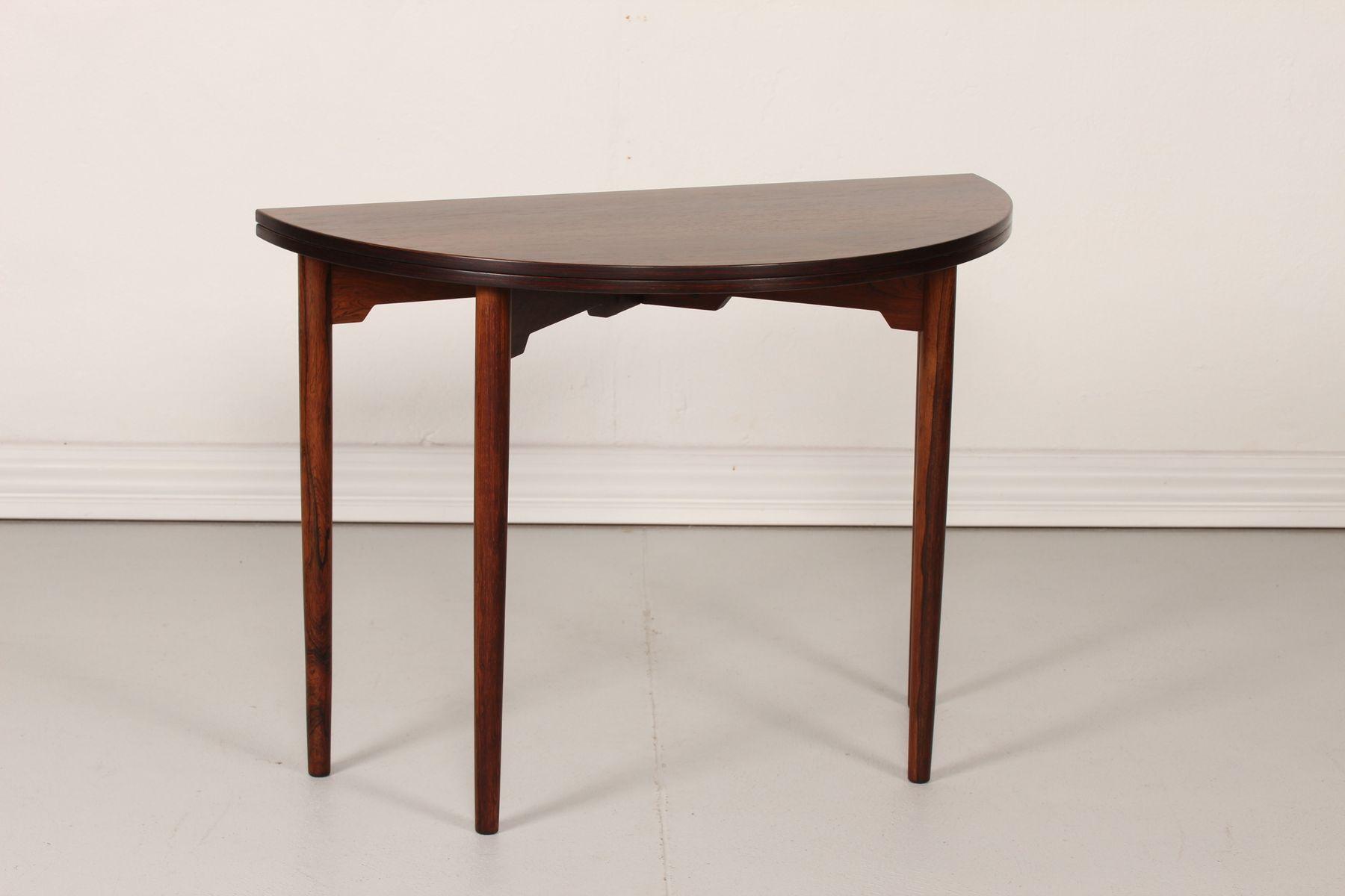 runder vintage fh 2081 tisch von hans j wegner f r fritz hansen bei pamono kaufen. Black Bedroom Furniture Sets. Home Design Ideas