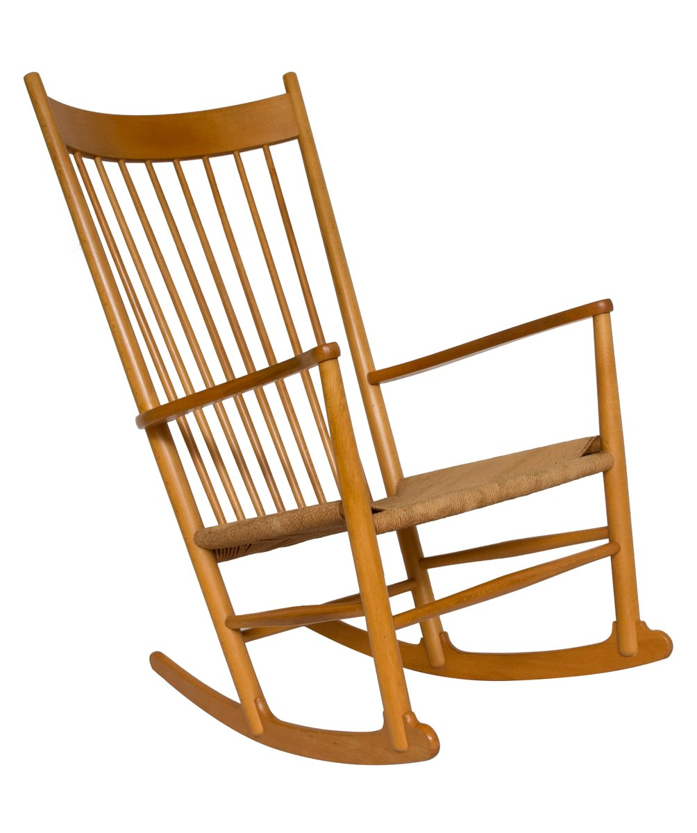 J16 Rocking Chair By Hans Wegner For FDB, 1960s