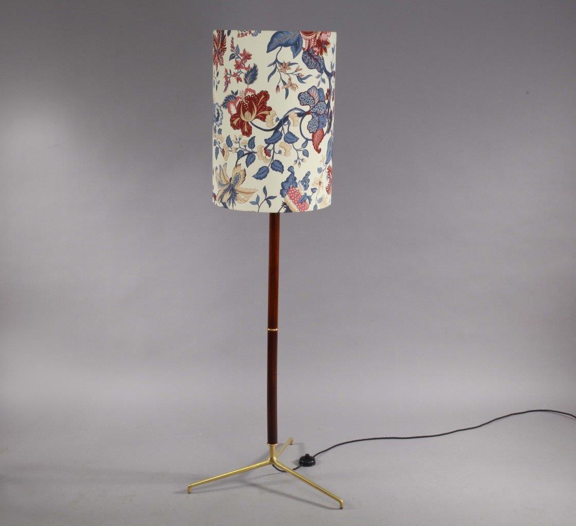 Florale Italienische Vintage Bodenlampe