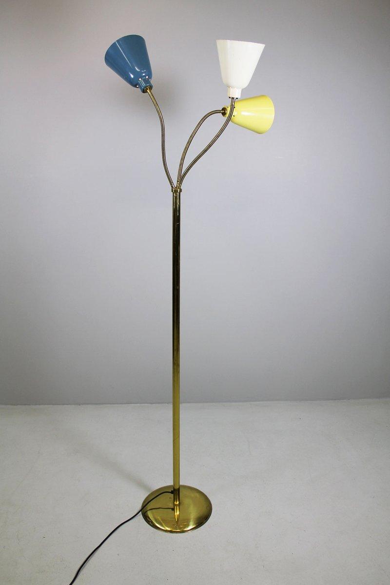 Italienische Stehlampe von Giuseppe Ostuni für Oluce, 1950er