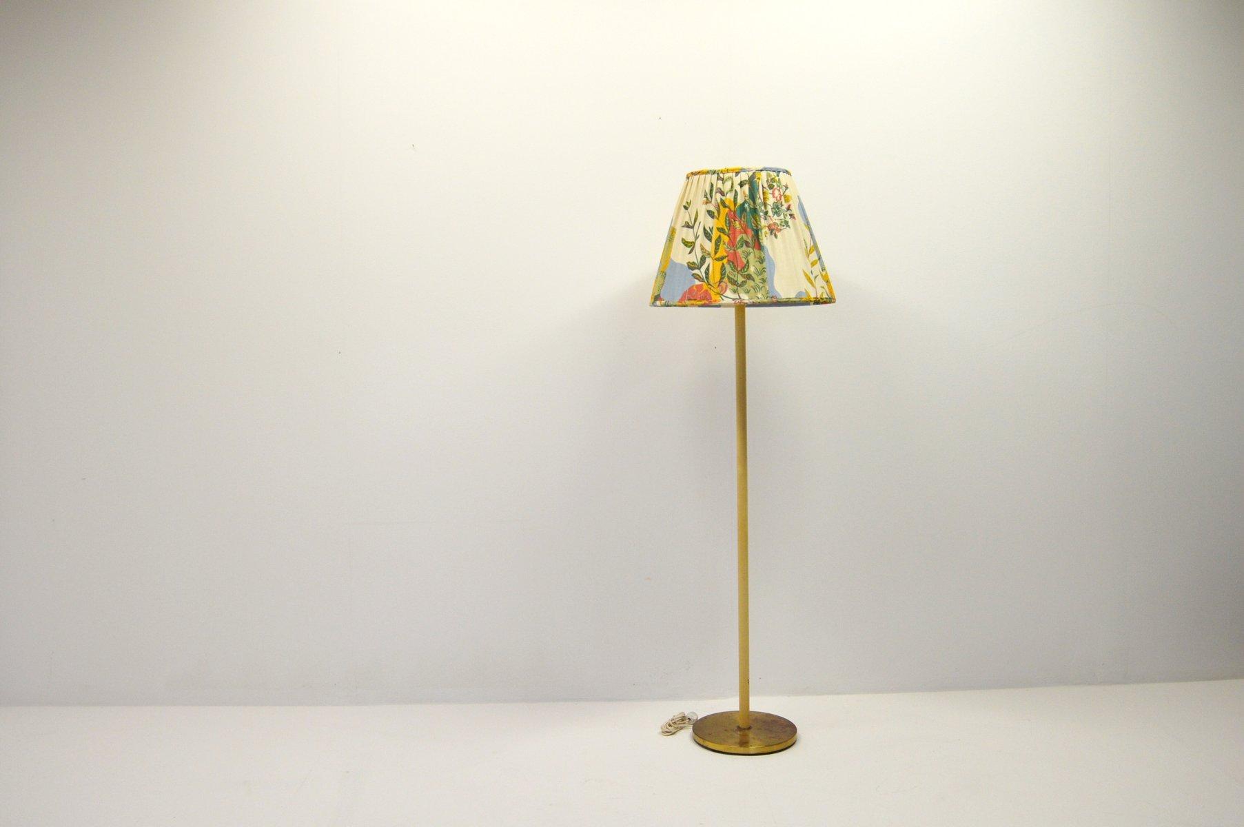 Schwedische Vintage Stehlampe mit Deckenfluter