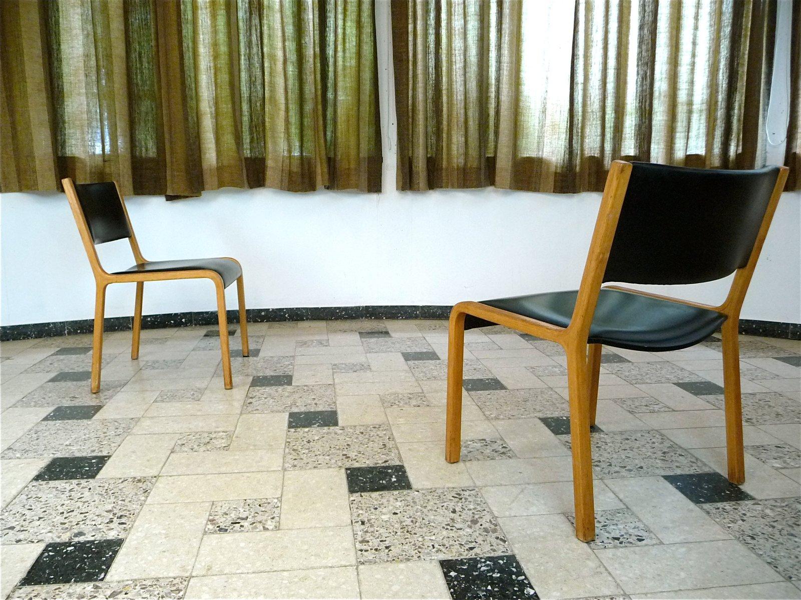 deutsche model 402 bugholz st hle von wilhelm ritz f r wilkhahn 1960er 2er set bei pamono kaufen. Black Bedroom Furniture Sets. Home Design Ideas