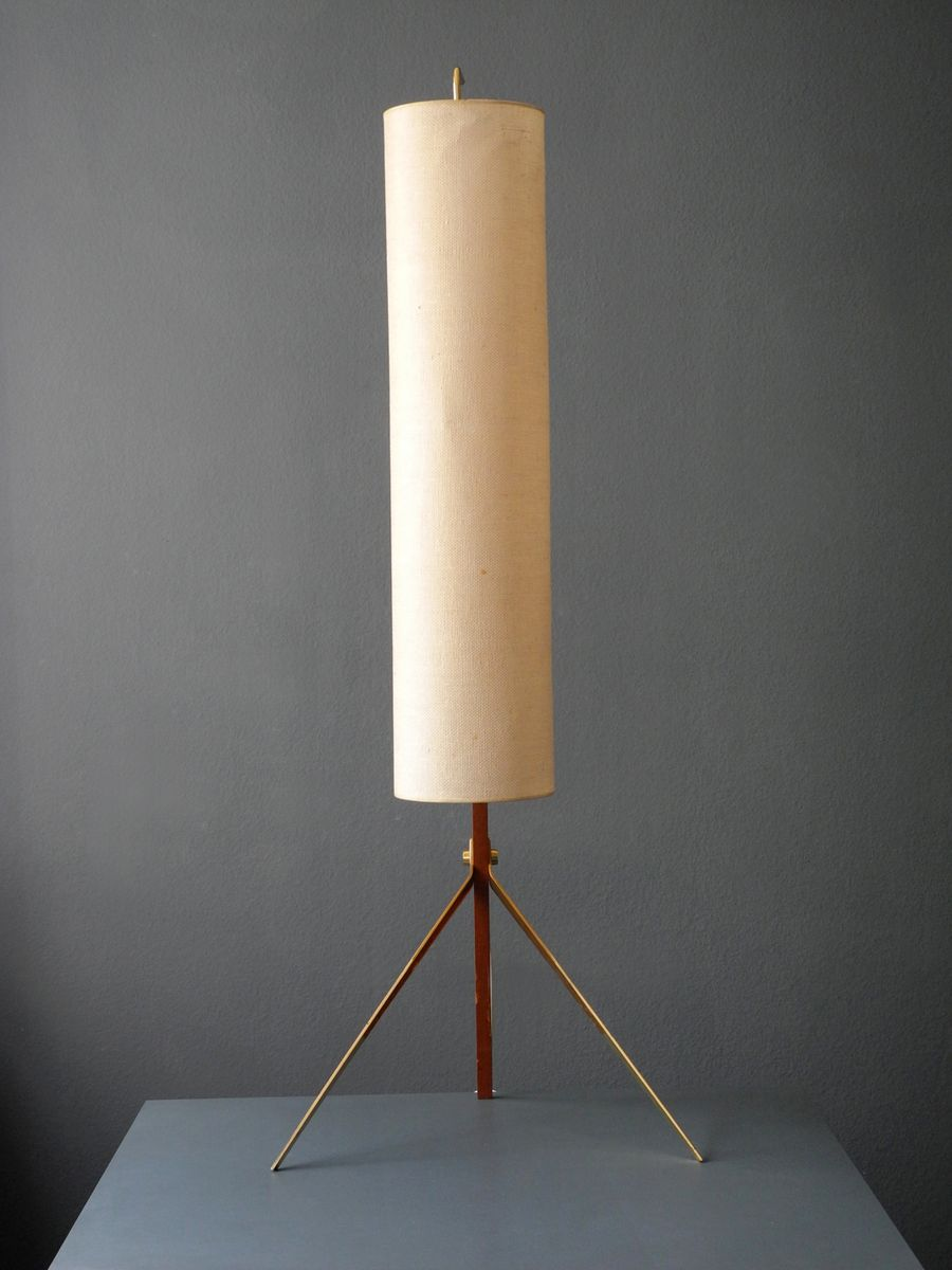 Mid century modern tripod cone floor lamp for sale at pamono mid century modern tripod cone floor lamp aloadofball Images