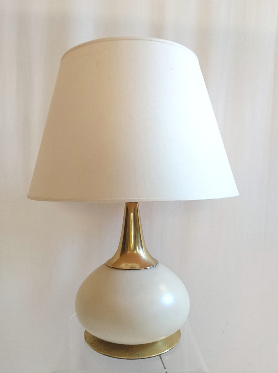 Große Italienische Vintage Tischlampe von PAF Milano