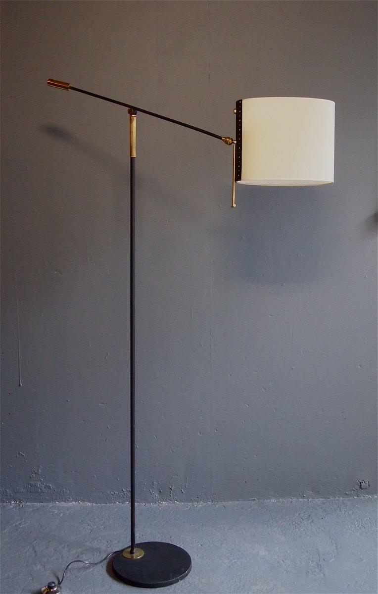 Stehlampe von Maison Lunel, 1950er