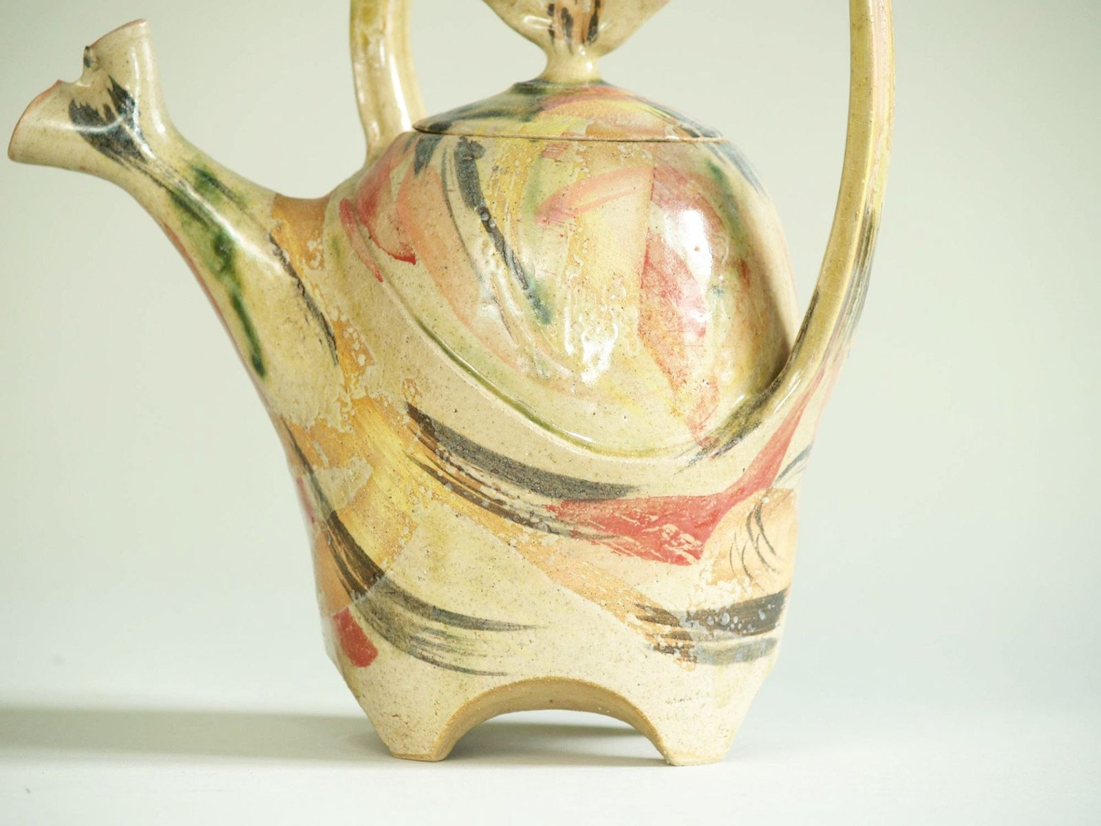 Studio Sculptural Teapot, 1980s for sale at Pamono