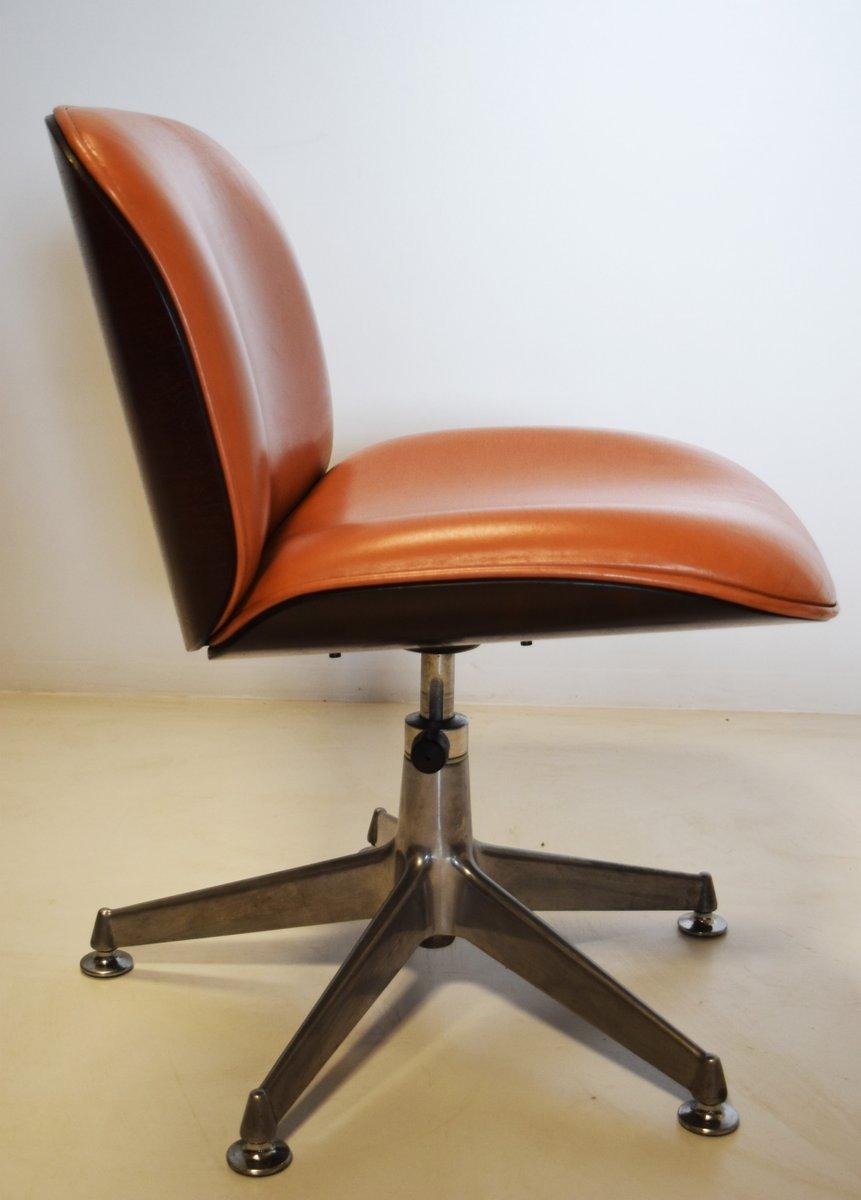 Sedia girevole vintage di ico parisi per mim anni 39 50 in for Sedia anni 50 design