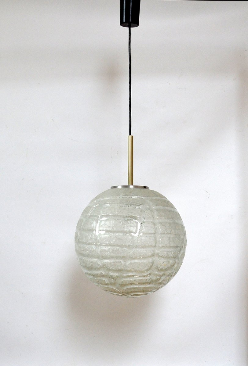Große Lampe von Doria Leuchten, 1970er